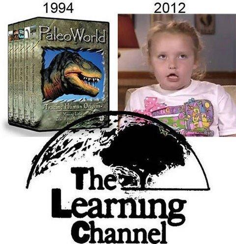 Should TCL change their name from The Learning Channel to The Reality Channel?