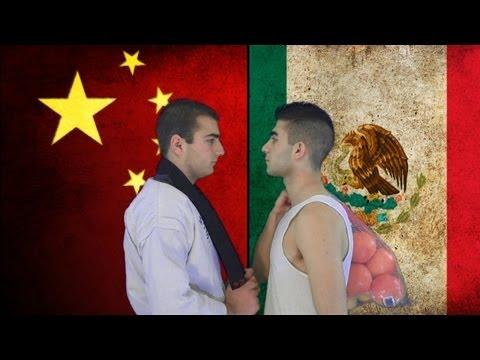 Which country would win this war: China vs Mexico?