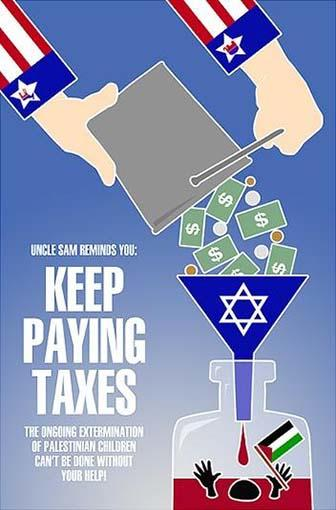 Question for any other Palestinian Americans, does it ever bother you that your tax dollars are going to fund the illegal occupation of your homeland?