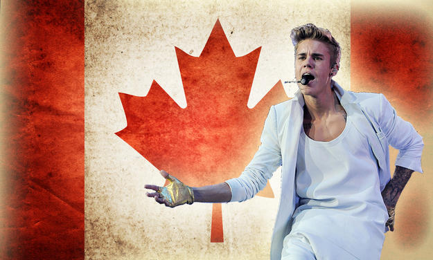 Has Justin Beiber made being Canadian more acceptable to bigoted people in our society?
