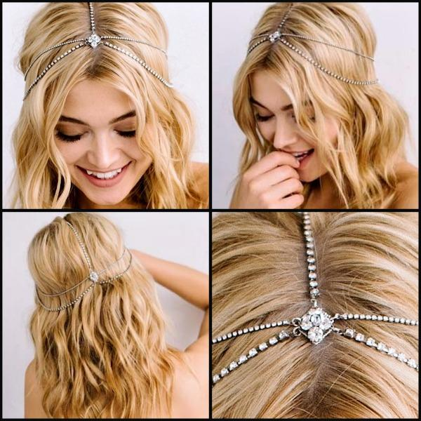 Girls, What do you think about chain hair accessories? Are they comfortable to wear?