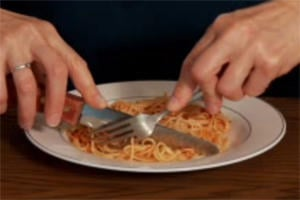How do you eat your spaghetti?