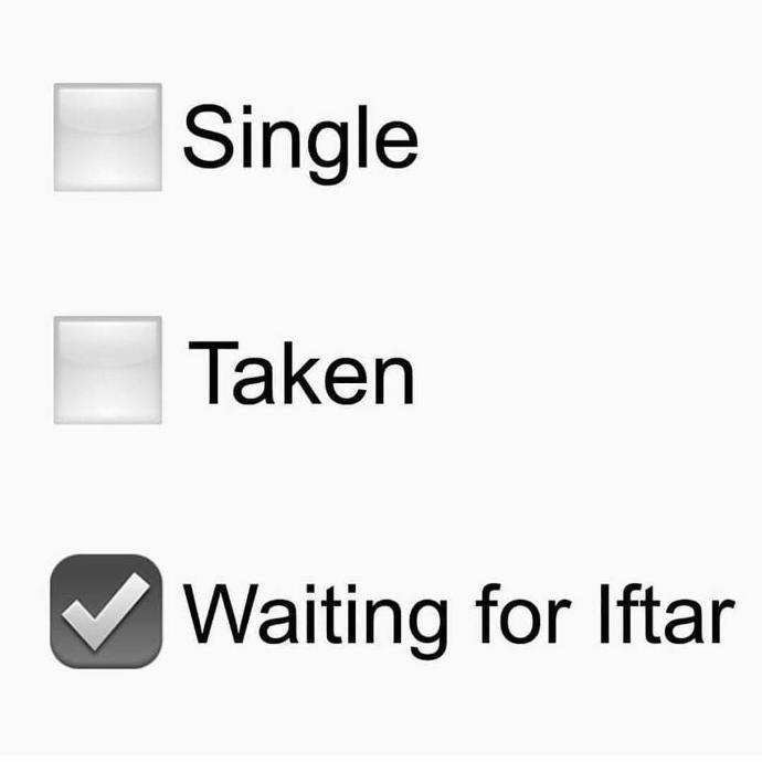 How is Ramadan going so far?