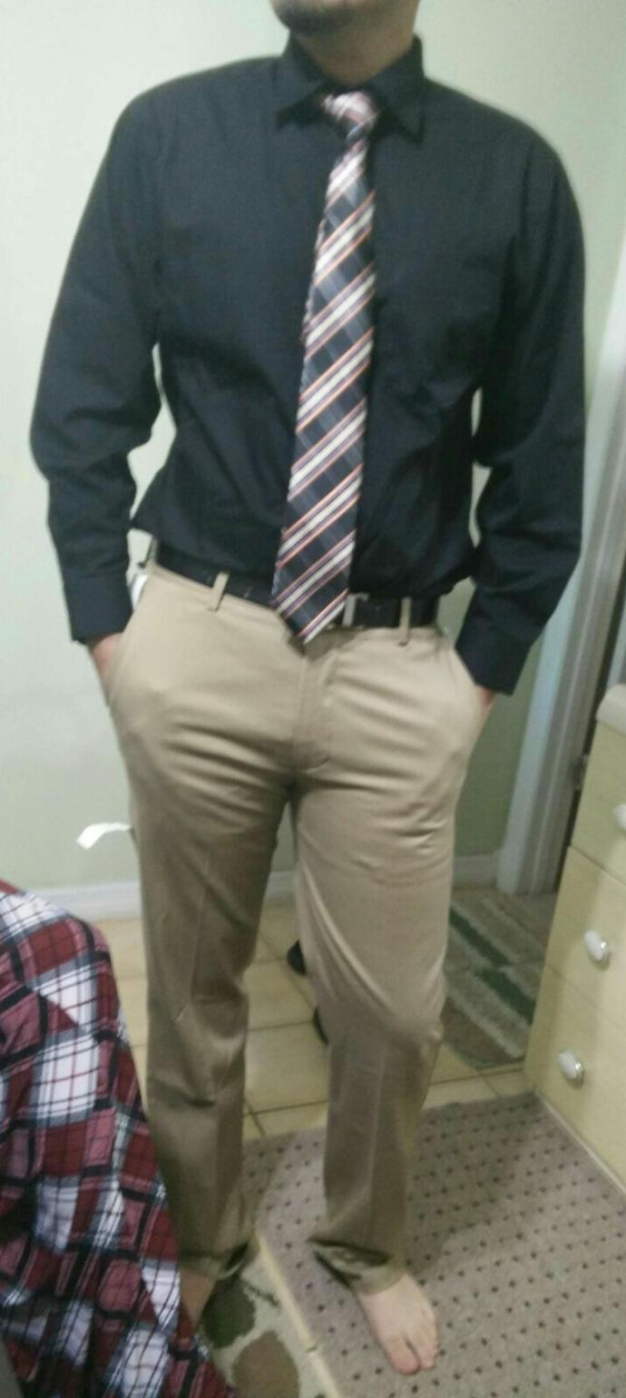Are my pants too tight? How classy does this outfit look?