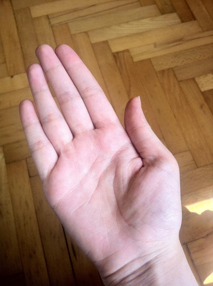 Is my hand big?