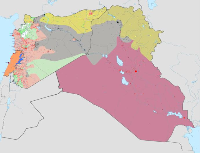 Instead of looking at them as separate conflicsts, do  you think we should start calling the wars in Iraq, Syria and Lebanon