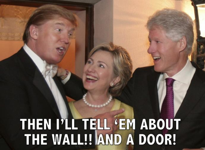 What do you think Clinton will do if her plan of using trump as a plant to break up the Republican party fails and trump gets elected president?