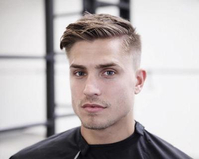 Cool Hairstyles For High School Guys , folade