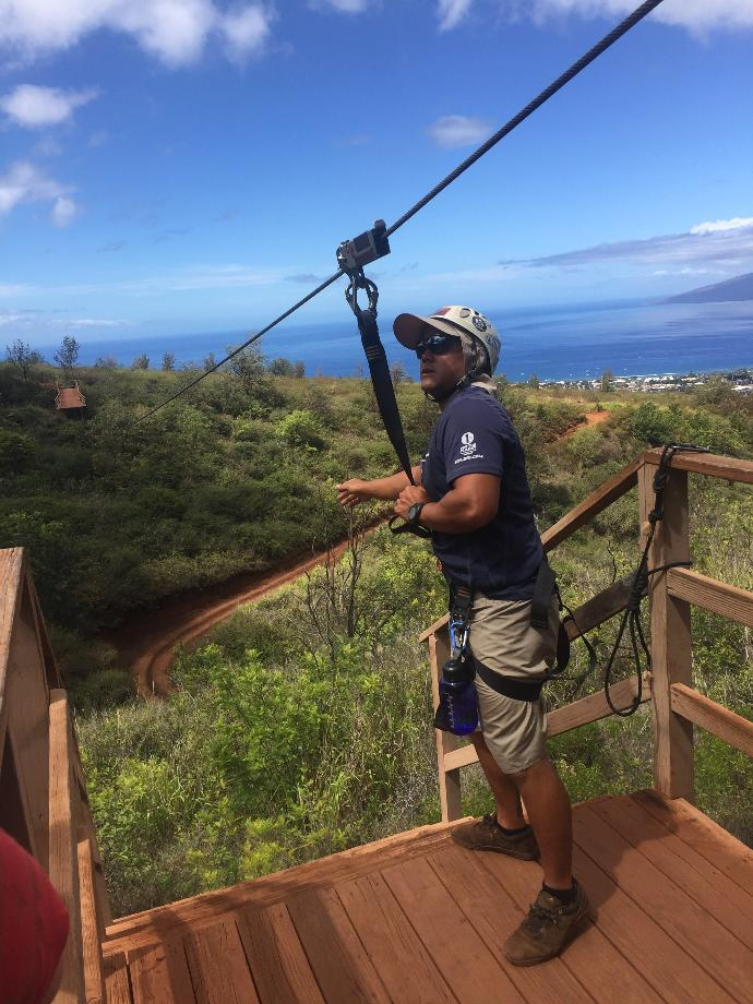 Have you ever gone zip lining before?