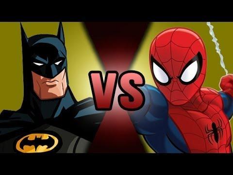 Batman vs Spider-Man. Who would win?