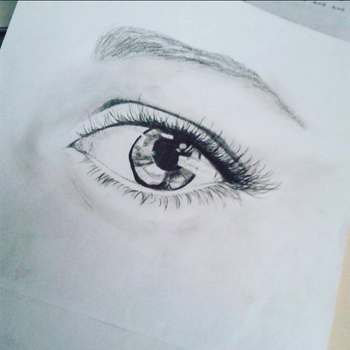 Do you like my eye drawing?