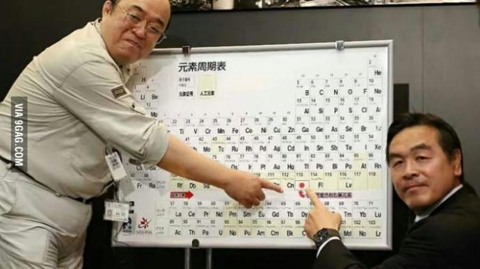 You guys! Did you know that are 4 new elements added on the periodic table?