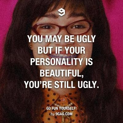 you have a good personality