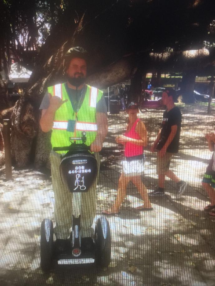 Have you ever ridden on a Segway before?
