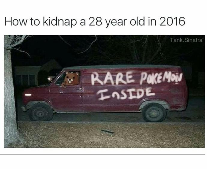 Seriously? Is this all about the Pokemon GO game young people are crazy about?