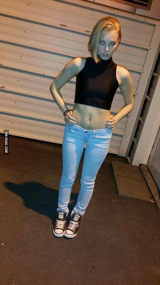 Does my friend look like Android 18?
