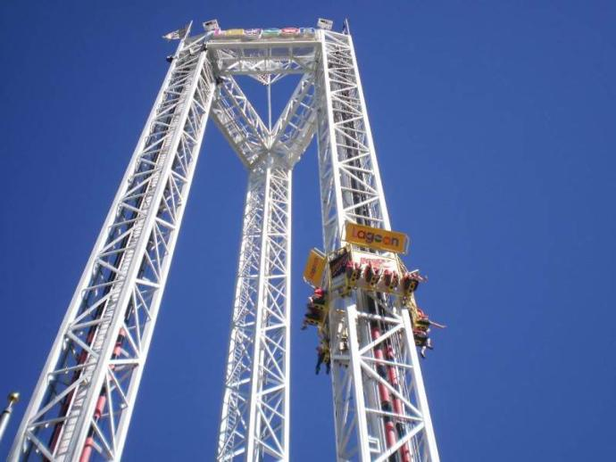 Rate this ride: Free fall?