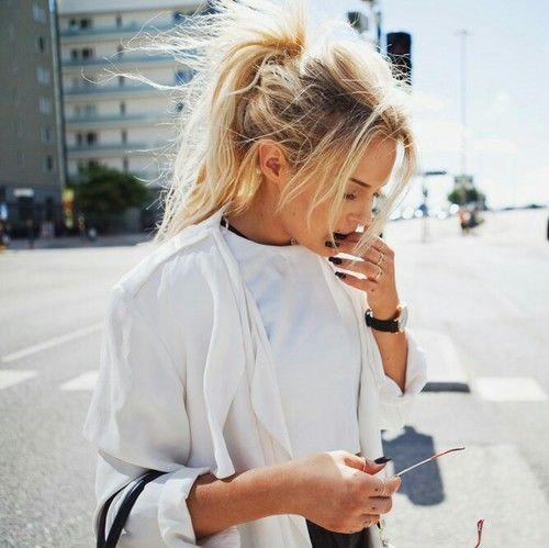 Guys, do you like this hairstyle (messy ponytail)???