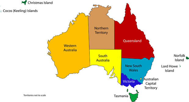 What's your favorite Australian state & territory?