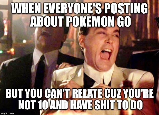 Who else is tired of all these Pokemon Go posts?