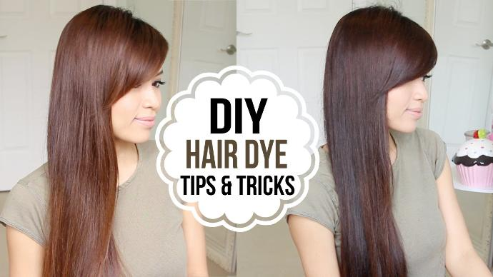 When dying your hair, does it take longer for the color to adhere to the hair near your scalp or to the rest of it?