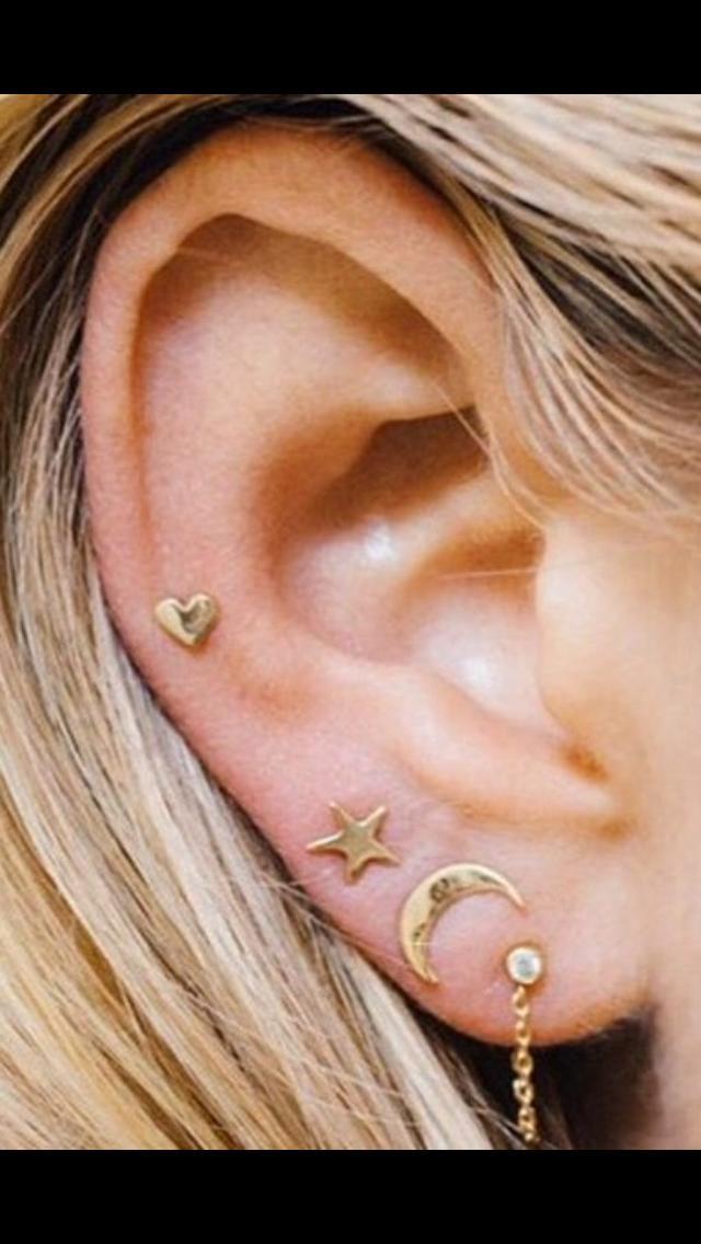 Guys, How do guys feel about multiple ear piercings?