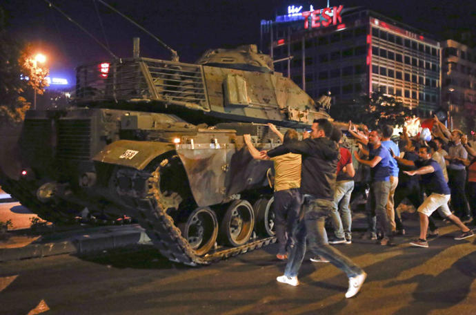 Turkish military coup fails to rattle Erdogan's regime, what do you think?
