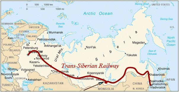 Would you ever want to ride the Tran-Siberian Railway from one end to the other?