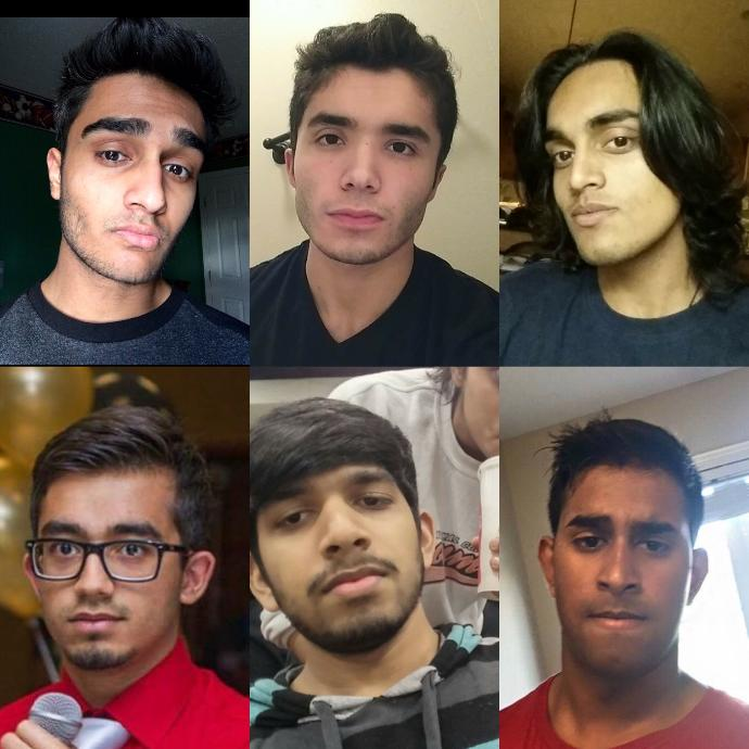 Curious how me and my friends stack up against each other. Rate us each 1-10 if you could. Be honest, our feelings won't get hurt. ?