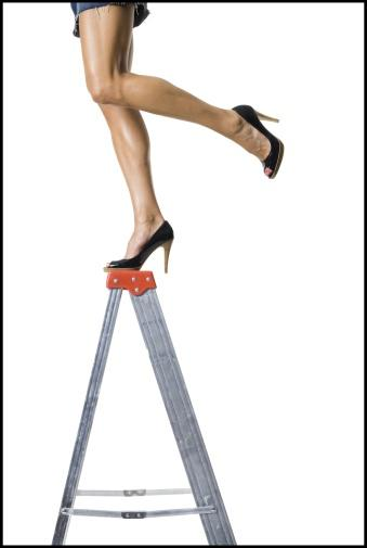 Girls, How well can you balance in high heels?  What have you done while wearing high heels that proves your balance is awesome?