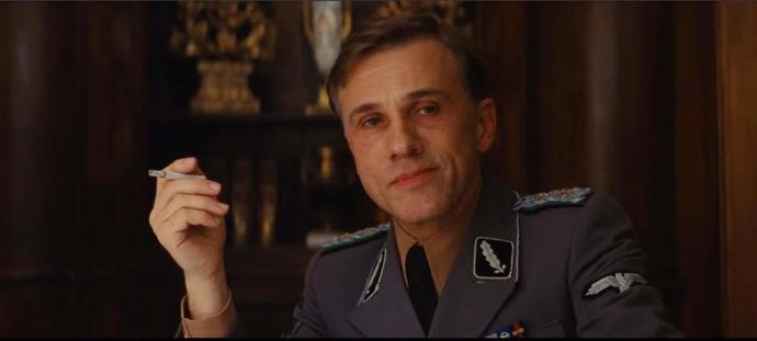 Don't you agree that Christoph Waltz is an amazing actor ?
