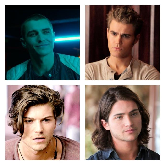 Girls, Out of these 4 hairstyles which one do you prefer on a guy?