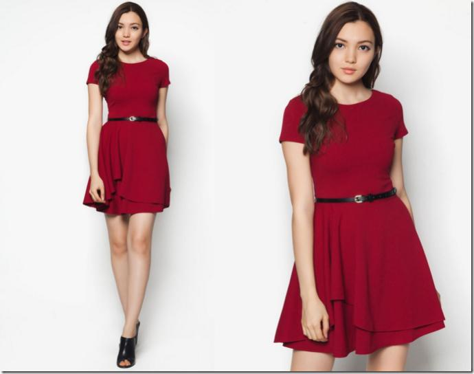 Wine red/burgundy or bright red?