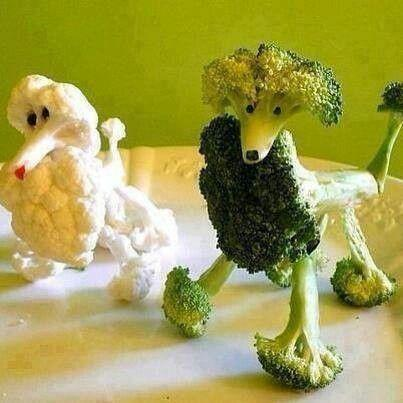 I'm going to cook broccoli now !! : D. WHO likes broccoli?