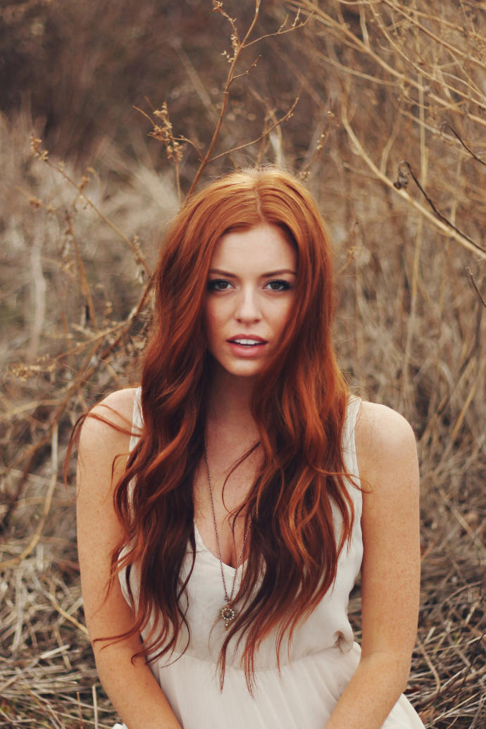 Thoughts on girls who dye their hair red?