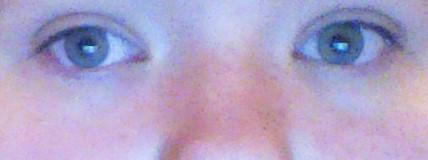 what color would you say my eyes are right now ?