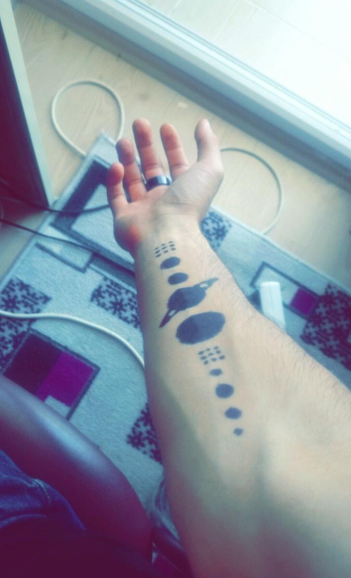 Home make tattoo how?