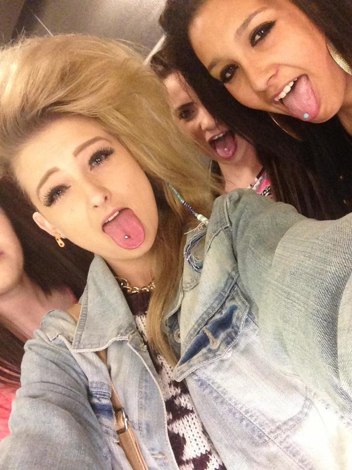 Q10 Tongue piercings yes or no ?