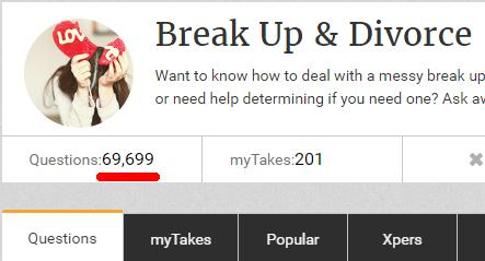 Should people deal with break up or divorce by doing 69?