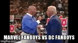 Would you agree that these memes are Marvel vs DC Comics fanboy argument/fights in a nutshell?