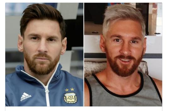 Which hair color suits him better?