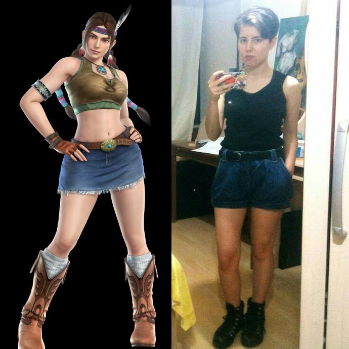 Do you think Julia Chang suits me for cosplay?