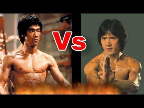 Jackie Chan vs Bruce Lee? Who wins?