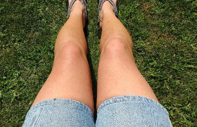 Girls, Are my legs hot and sexy, or do they look too feminine?