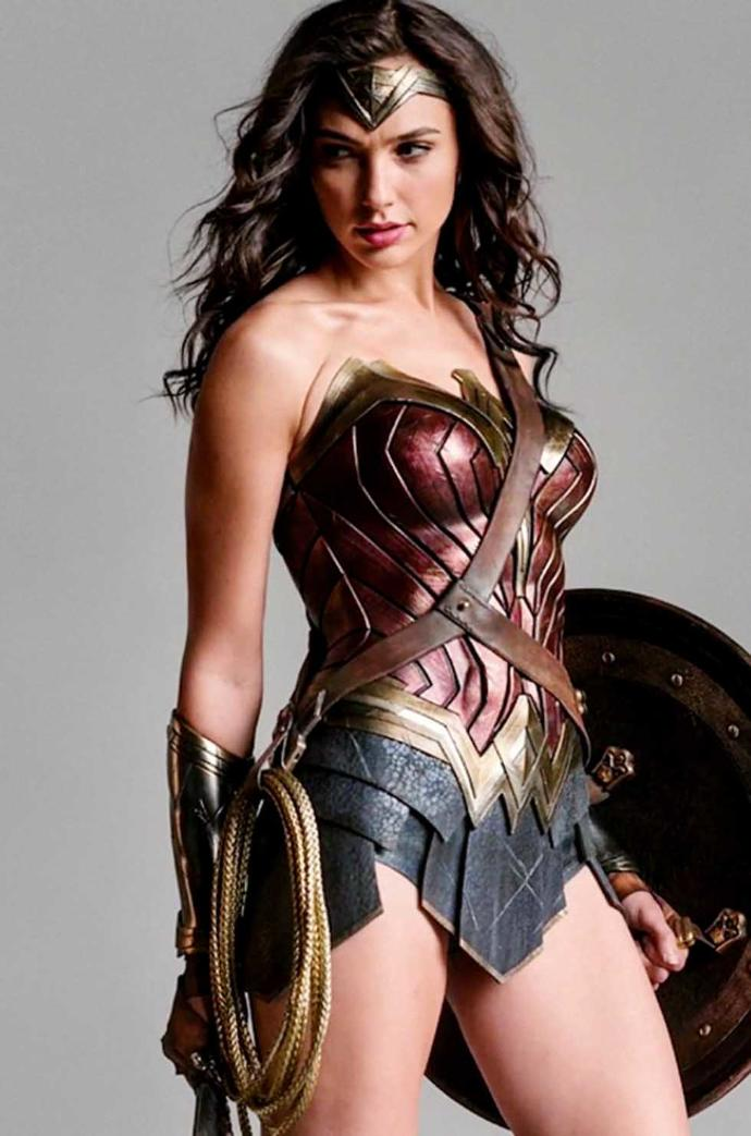 How do you feel about Gal Gadot playing as Wonder Woman in the Wonder Woman movie coming up next year?