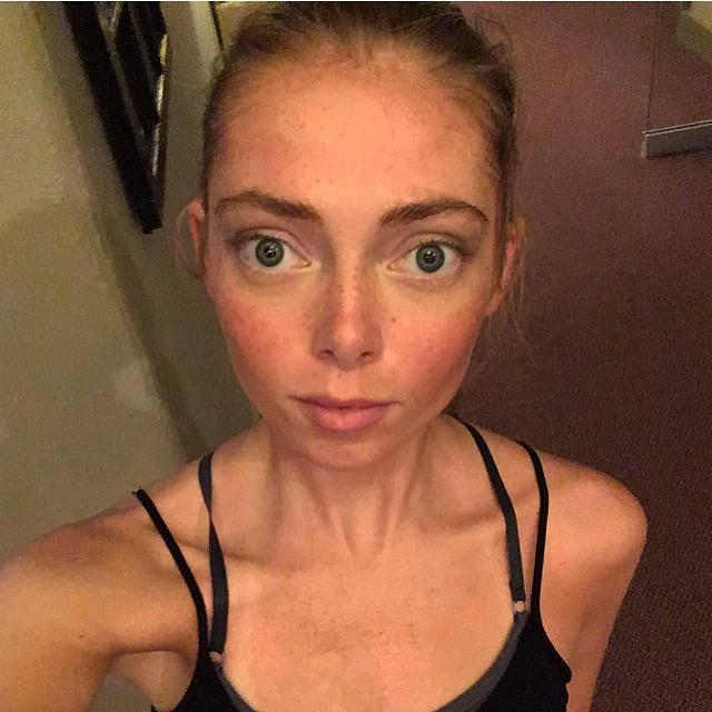 What do you think of my after yoga selfie?
