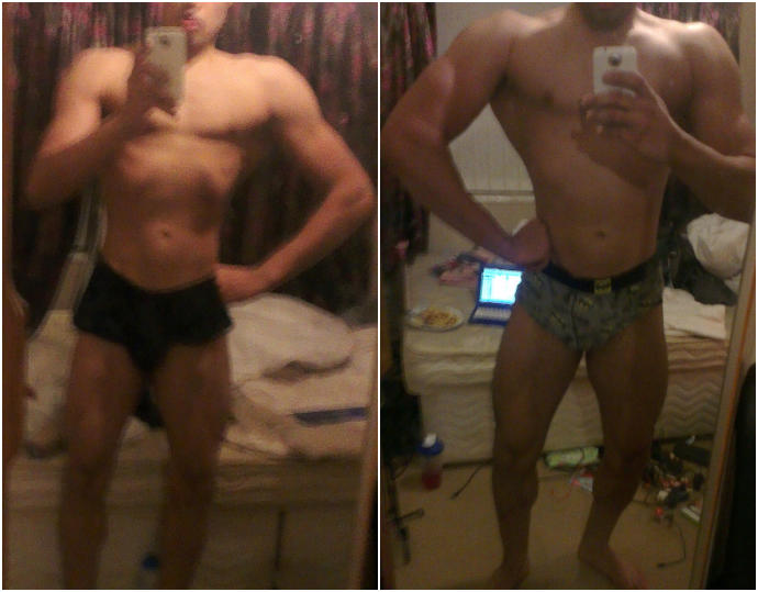How's this for a 10 week transformation?