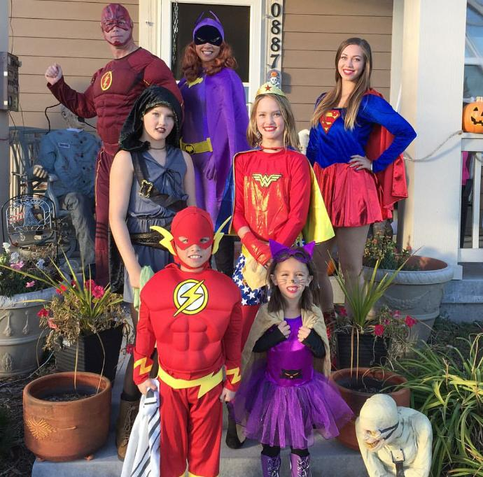 Best and worst Halloween costume (family)?