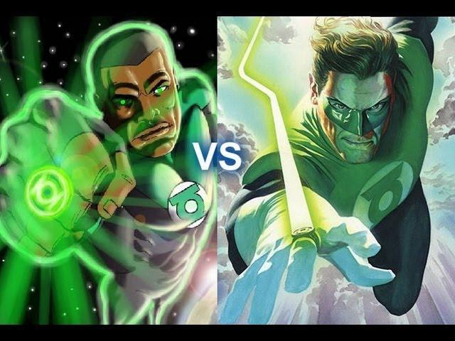 Hal Jordan vs John Stewart, which Green Lantern do you like better?