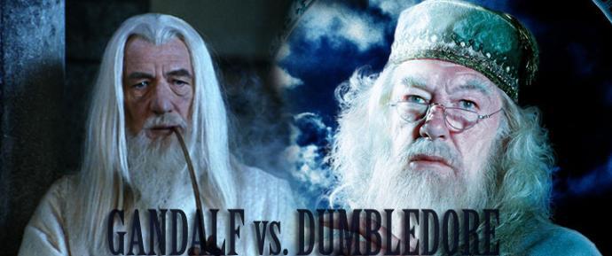 Gandalf VS. Dumbledore?